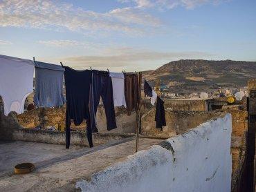 Marocco Vista di Fes dalla Terrazza del Riad