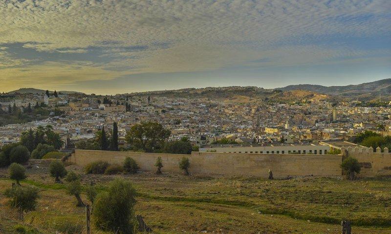 Marocco Vista Panoramica di Fes