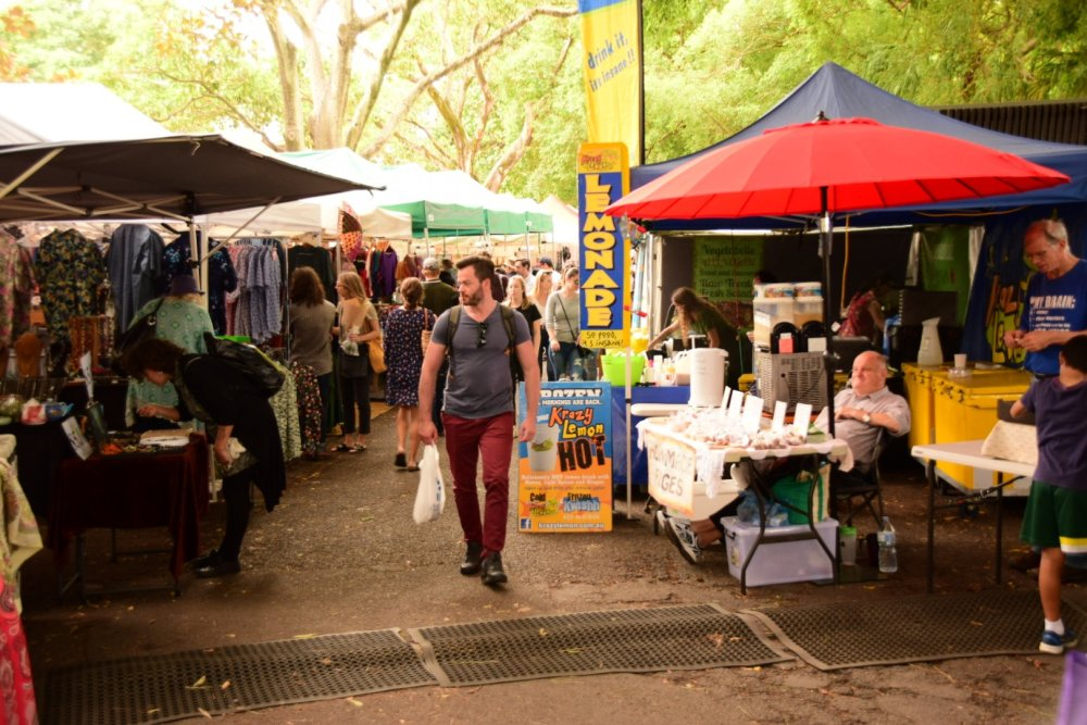 Davies Park Market West End