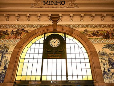 Porto Stazione Sao Bento parete interna