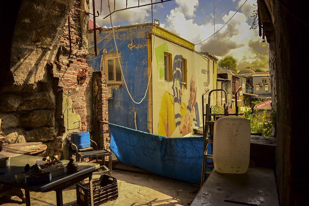 Visione dai Corridoi del Tetto del Gran Bazar