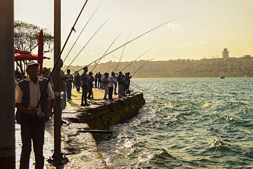 I pescatori ad Uskudar