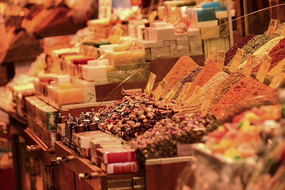 Istanbul shopping Gran Bazar