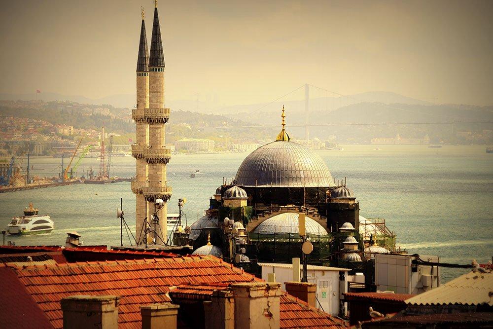 Moschea di Yeni Cami a Istanbul