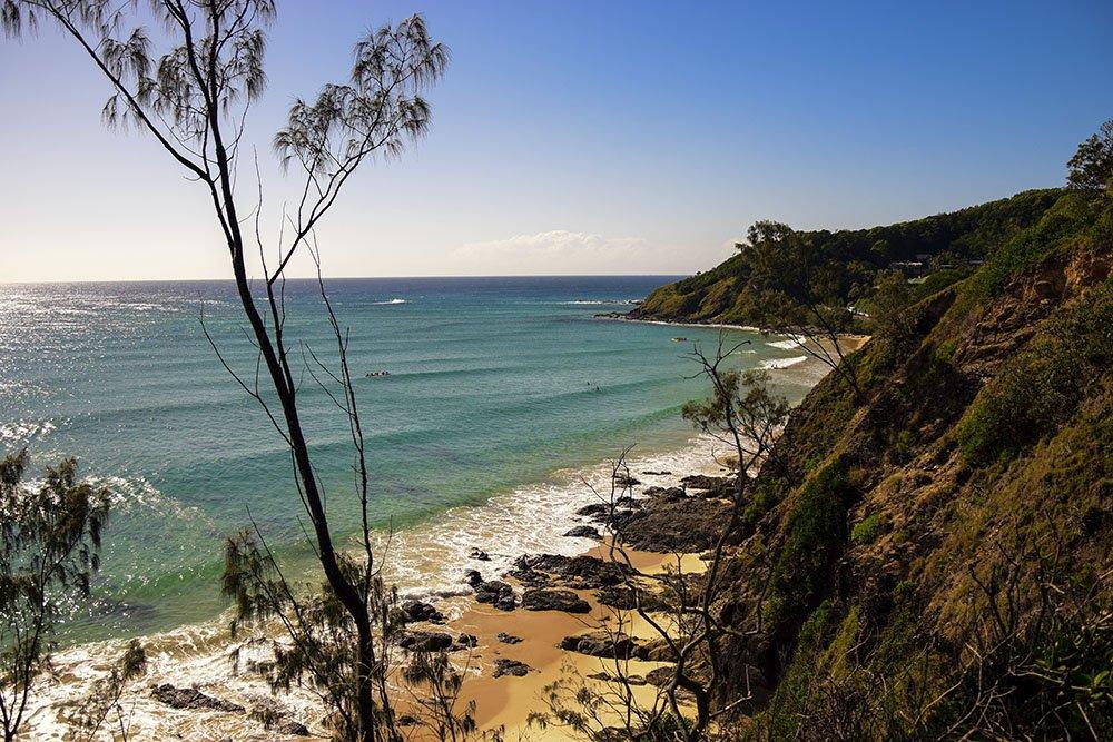Panorama dalla Cape Byron Walk