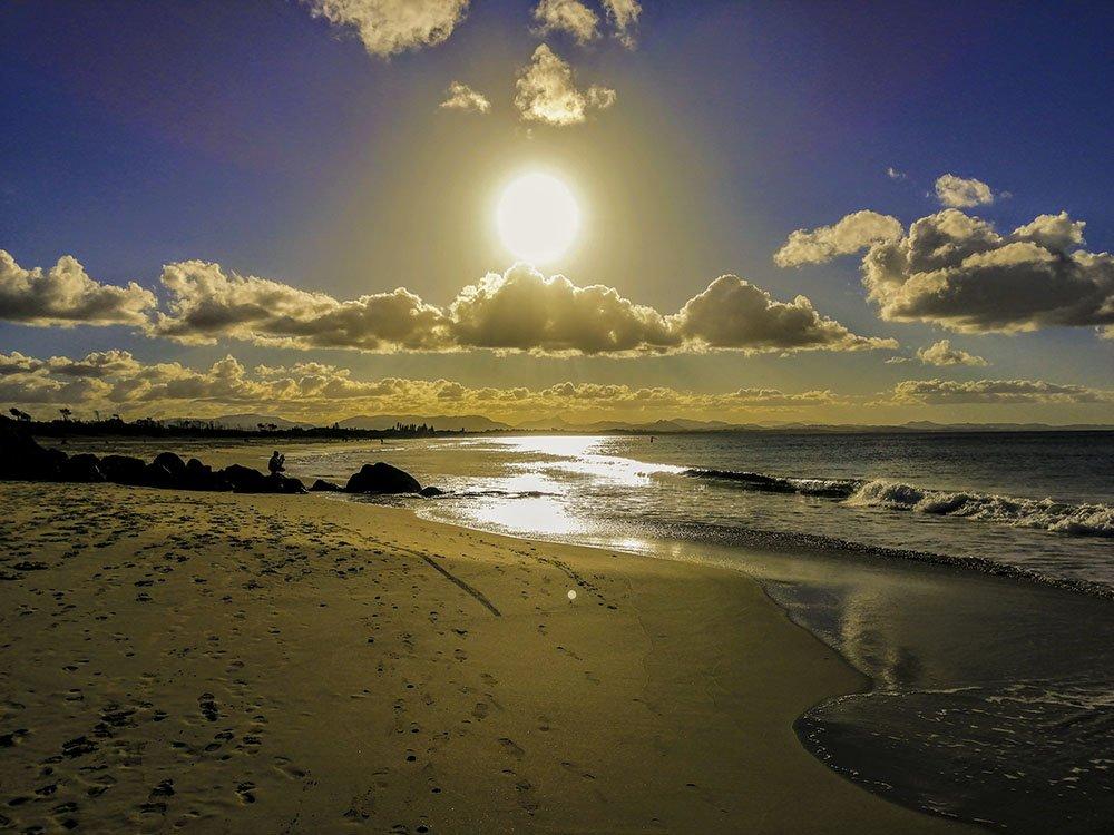 Byron Bay sole oceano