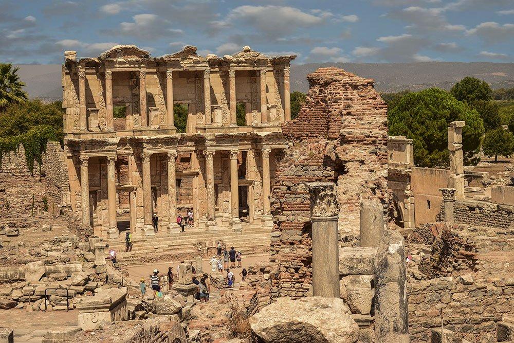 Epheso Biblioteca Celso