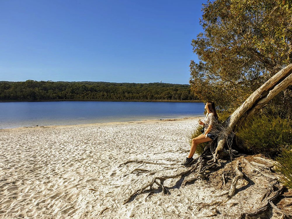 North Stradbroke Island Brown Lake