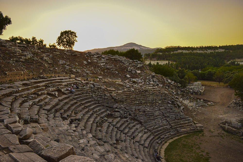 L'antico teatro di Stratonikeia