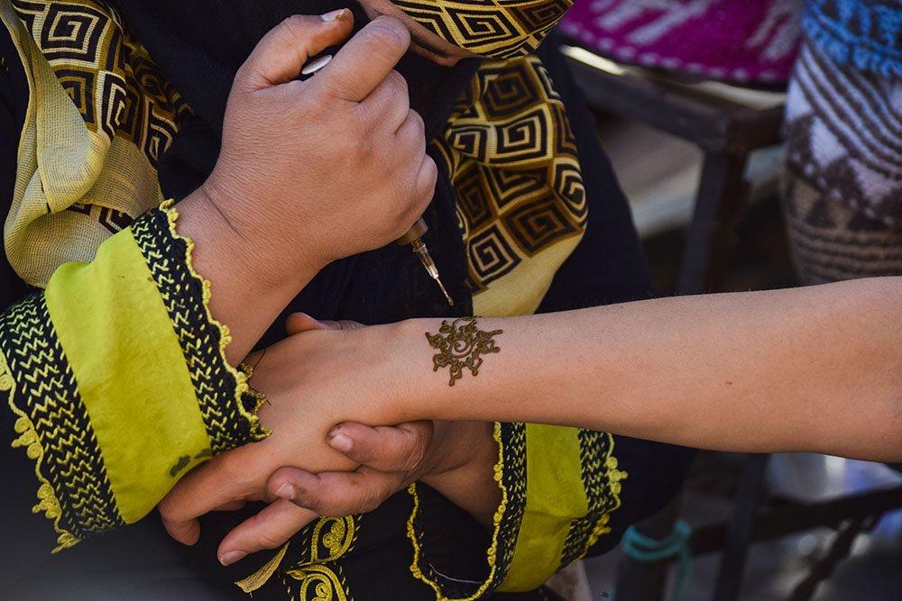 cosa fare Marocco hennè