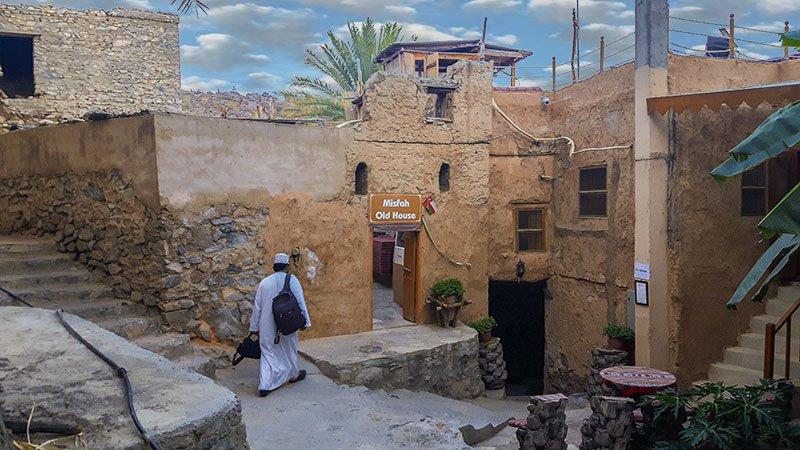 Dormire in dimore tipiche: Misfat, Oman