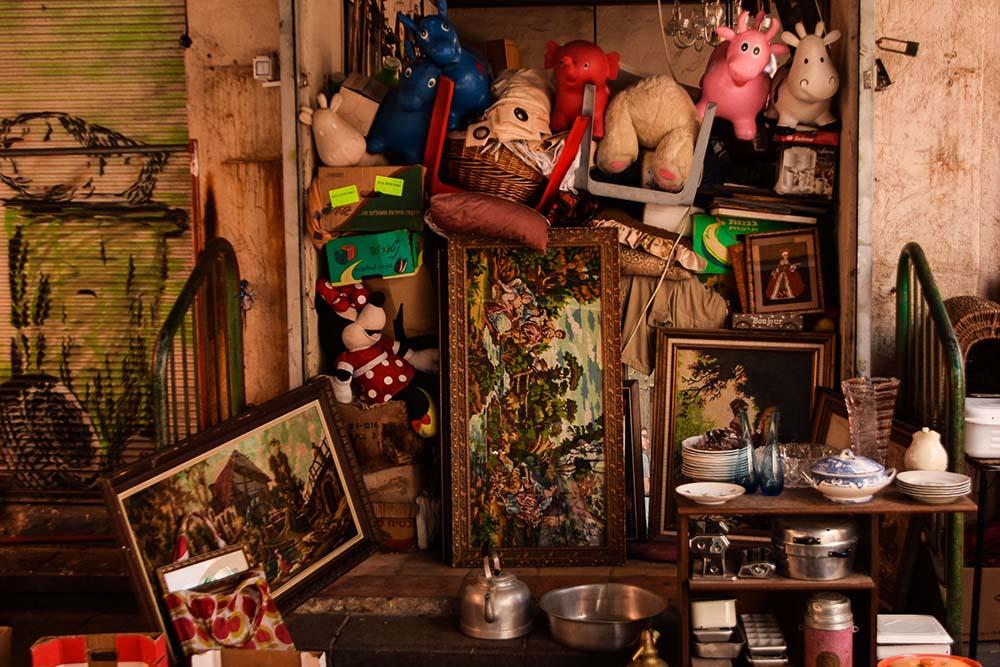I mercatini dell'usato a Jaffa