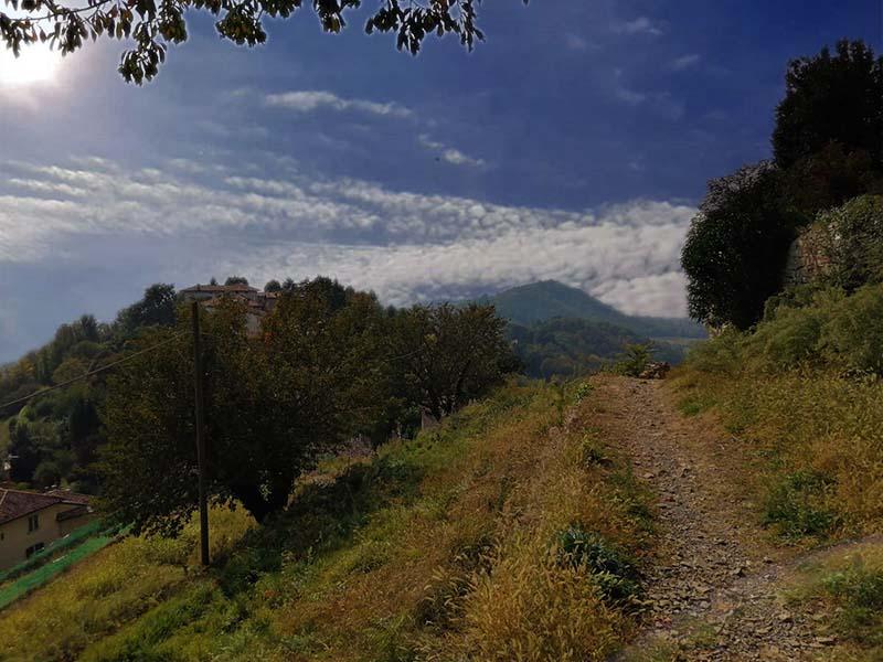 Da Via del Rione al Monte Bastia Bergamo