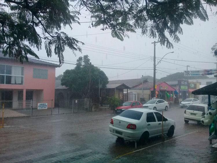Chuva chega a Arambaré