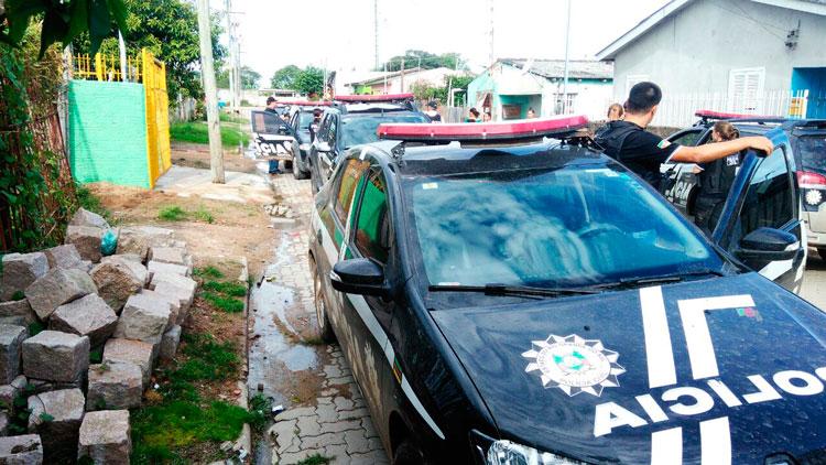 Operação Barra Limpa tira cinco criminosos da rua