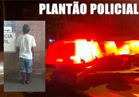 Polícia prende condenado por estupro