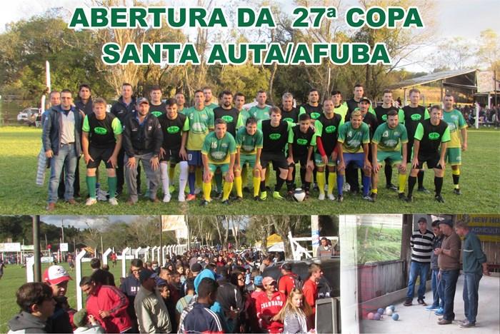 Abertura 27ª Copa Santa Auta Afubra