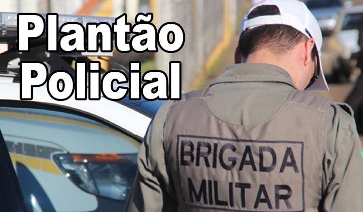 Brigada Militar apreende menor pilotando moto