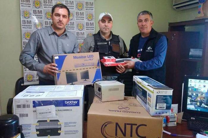 Administração de Chuvisca reforça estrutura da Brigada Militar