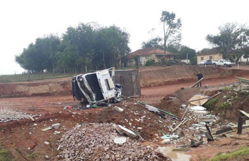 Motorista morre em acidente na BR-116 em Cristal