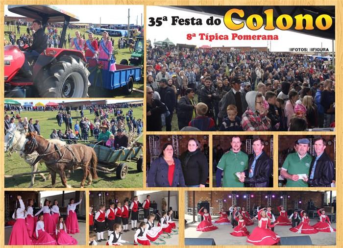 35º Festa do Colono em Santa Auta – Domingo