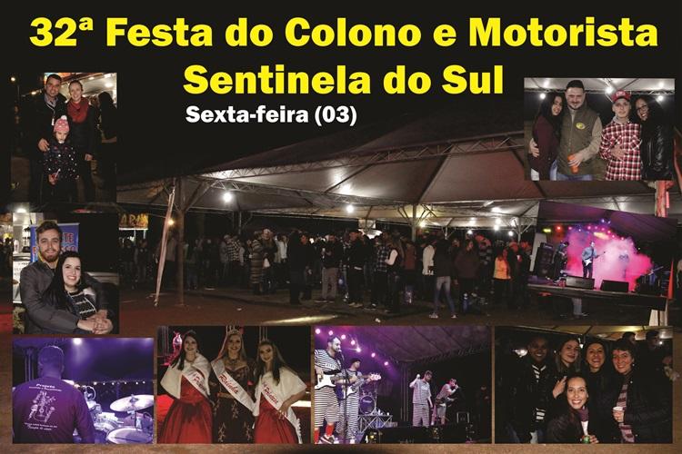 32ª Festa do Colono e do Motorista em Sentinela do Sul (sexta-feira 03)