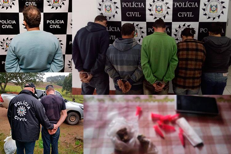 Operação Cronos prende sete pessoas em Camaquã e Mariana Pimentel