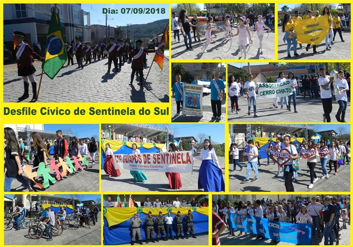 Desfile Cívico Sentinela do Sul