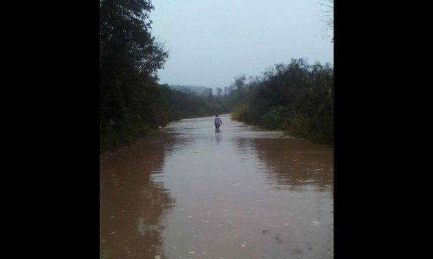 Fortes chuvas causam enchentes em toda região
