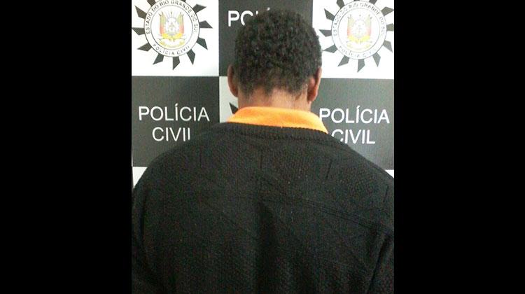 Polícia prende acusado de estuprar o próprio filho