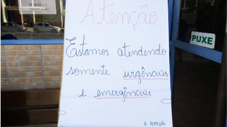 Médicos plantonistas estudam desligamento do hospital de Camaquã