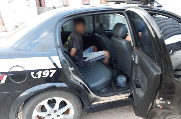 Preso homem que roubou sítio em Barra do Ribeiro