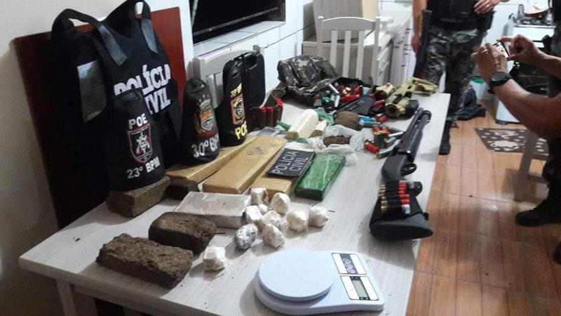 Polícia apreende mais de R$ 200 mil em drogas e agrotóxicos roubados