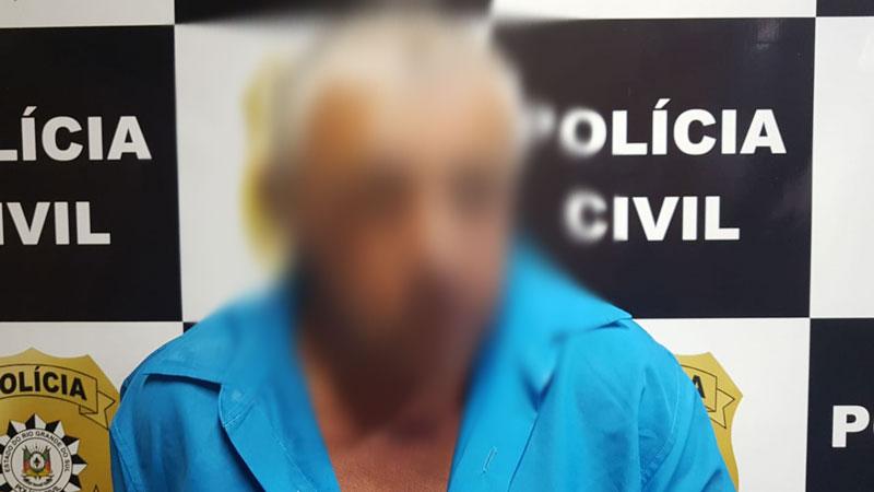 Preso o homem que esfaqueou a mulher em Cerro Grande do Sul