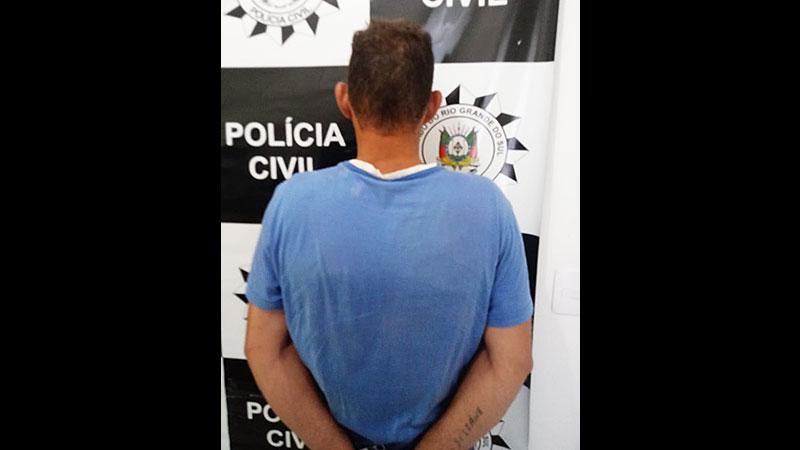 Homem preso por descumprir medida protetiva