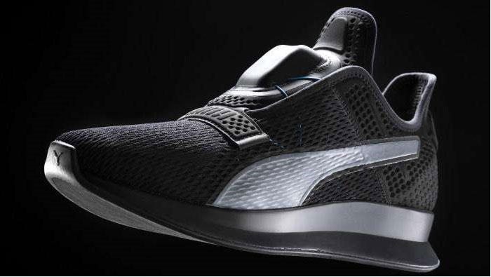 Puma cria tênis com sistema autônomo de ajuste ao pé