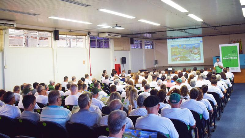 Assembleias do Sicredi reuniram mais de 500 mil pessoas