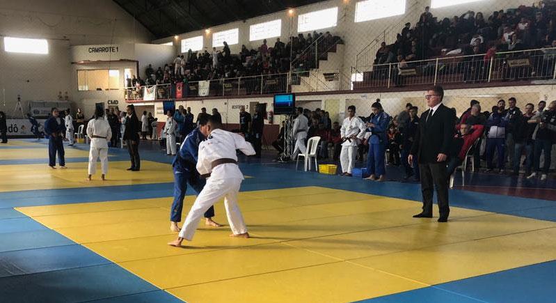 Dom Feliciano sedia grande competição de judô