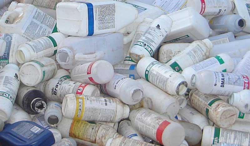 Recolhimento de embalagens de agrotóxicos em Dom Feliciano