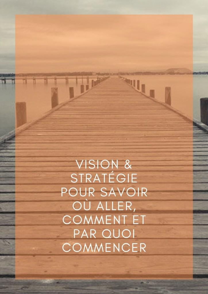 Vision et Stratégie pour savoir où aller, comment et par quoi commencer - ClientauCoeur.com / Lidia Boutaghane
