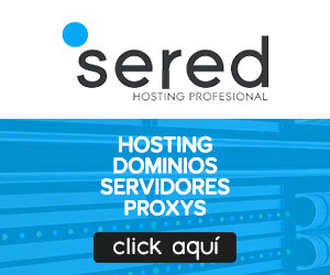 hosting españa sered