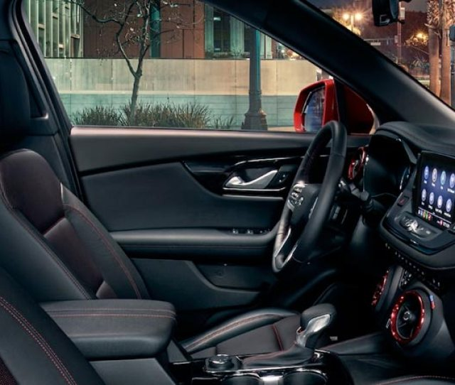Take To The Roads With A New Attitude When You Get Behind The Wheel Of The  Chevrolet Blazer