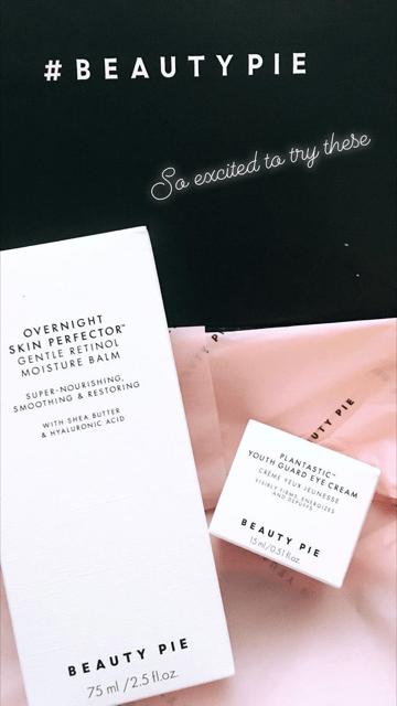 Beauty Pie Packaging