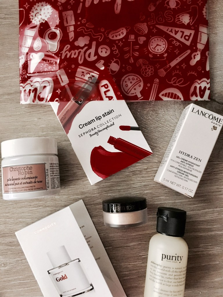 Sephora Play November 2018