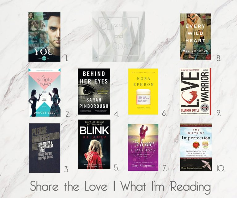 Share The Love What I'm Reading Nov2018