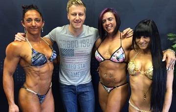 Female bodybuilders