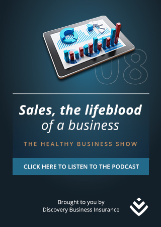 Discovery - The Healthy Business Show - Sales sidebar