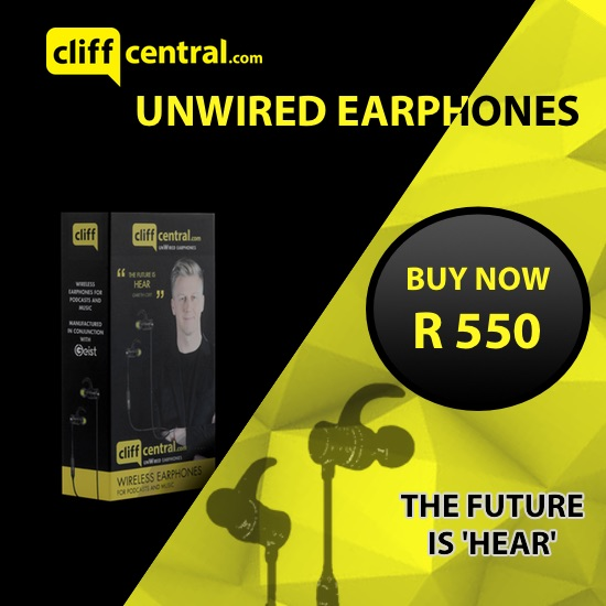 CliffCentral unwired EARPHONE website ad