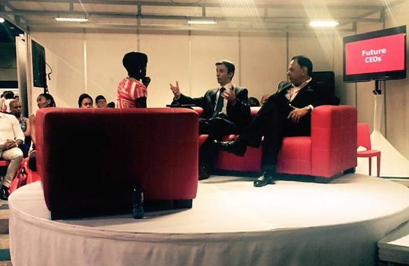 Future CEOs LeaderEx Careers CliffCentral Gareth Armstrong Yusuf Abramjee Africa Rising