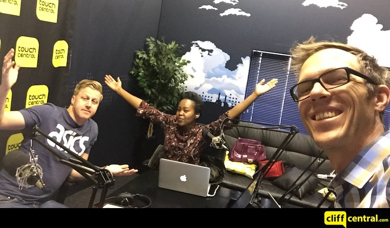 The Gareth Cliff Show Team Selfie - mancave